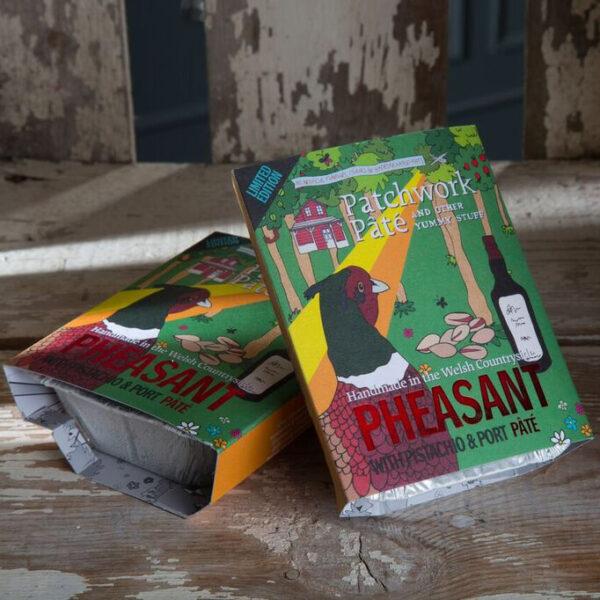 pheasant port & pistachio pâté