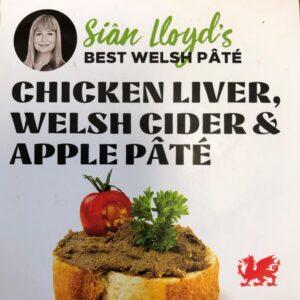 Sian Lloyd Chicken Liver, Welsh Cider & Apple Pate crop