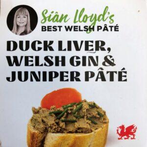 Sian Lloyds Duck & welsh gin crop
