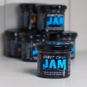 ghost chilli blueberry jam