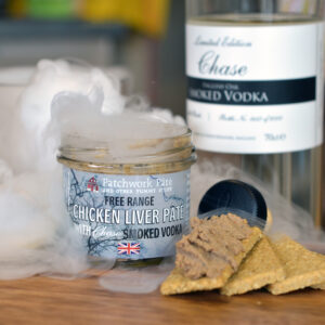 Free range Chicken Liver Pate Chase Smoked Vodka