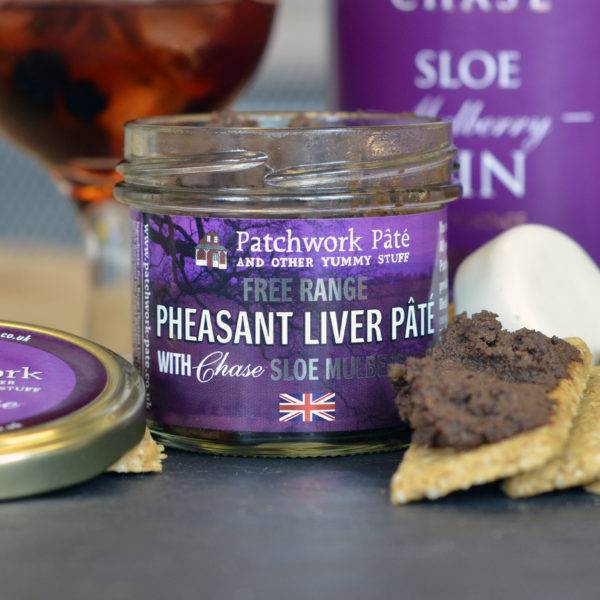 Free Range Pheasant Liver Pate with Chase Sloe Mulberry Gin