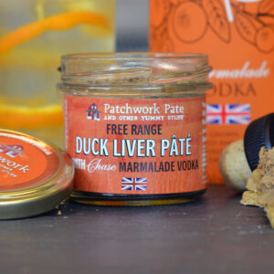 Free Range Duck Liver Pate with Chase Marmalade Vodka