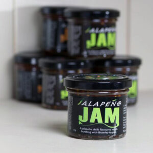 jalapeño chilli apple jam