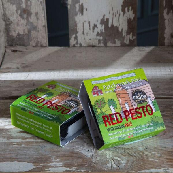 red pesto pâté